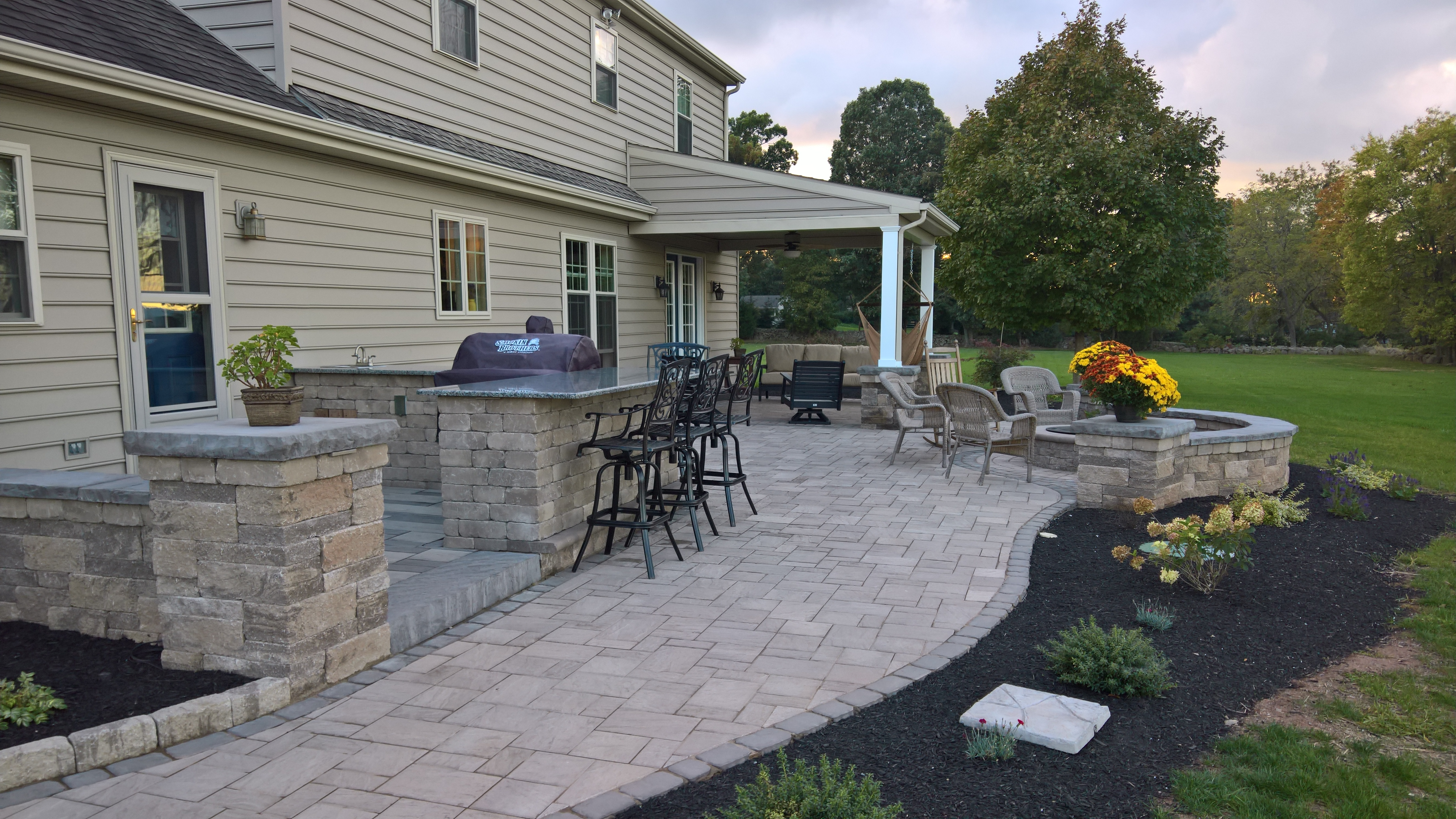 kitchen build patio on me pin made built backyard diy out experience no turned with what awesome this guy so that decided in his to a