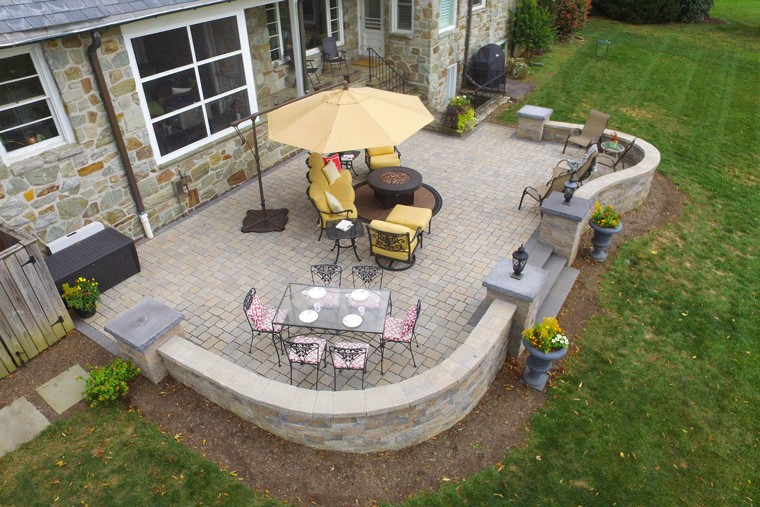 Five unique hardscape ideas to make your outdoor living area stand out solutioingenieria Image collections