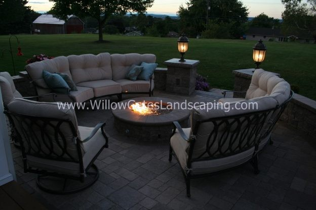 Find a Local Landscaper to Install a Patio and Firepit