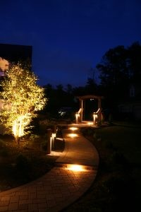 Landscaping with Professional Lighting in Denver, PA