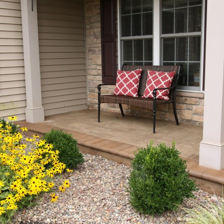 Landscaping with Stone instead of Mulch