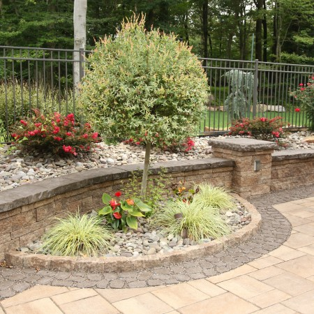Landscaping and Hardscaping with a Swimming Pool