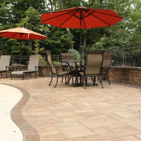 A Poolside Patio in Morgantown, PA