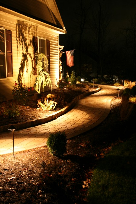 Outdoor Home Lighting Installed in PA