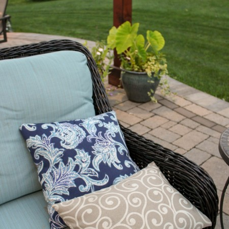 Add Color to your Backyard Patio