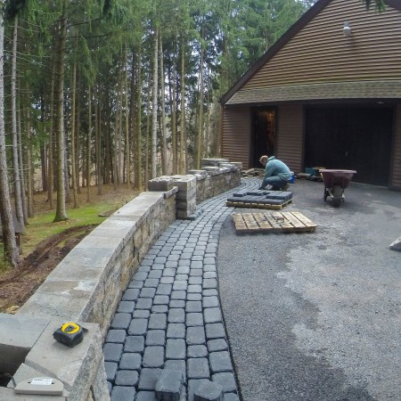 Find a Contractor to build a Retaining Wall in PA