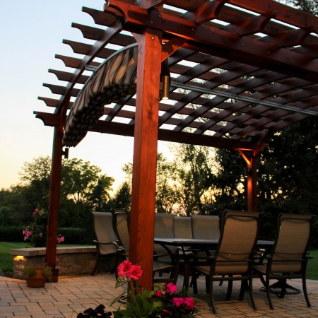 Patio design with a Pergola in Chester County, PA