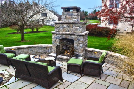 Outdoor Fireplace Builder in Reading PA