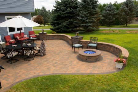 Patio with Fire Pit in Coatesville PA | Find a Builder to do the Job