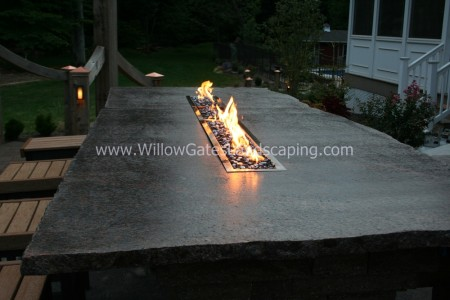 Table Top Fireplace for your Backyard