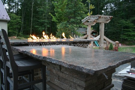 Fire Table in Your Backyard | Enjoy food Around the Fire