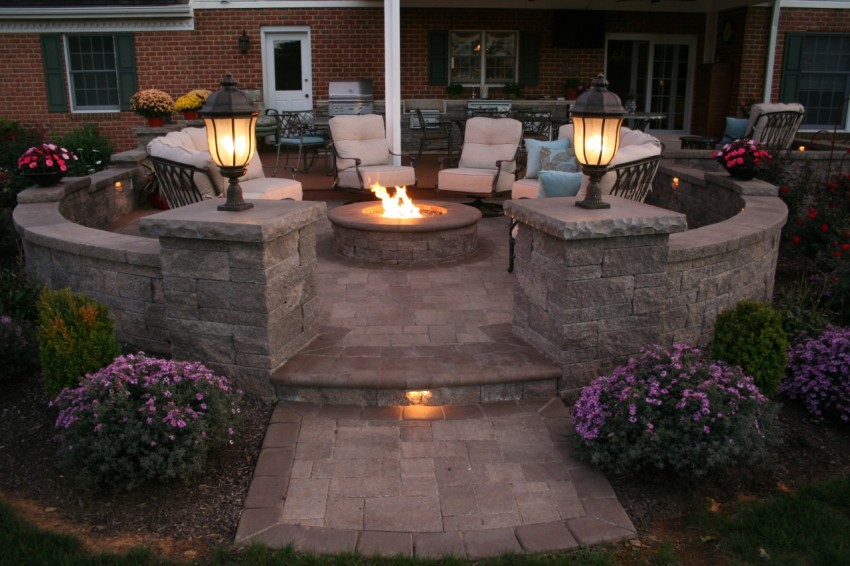 Landscaping and Patio lighting ideas