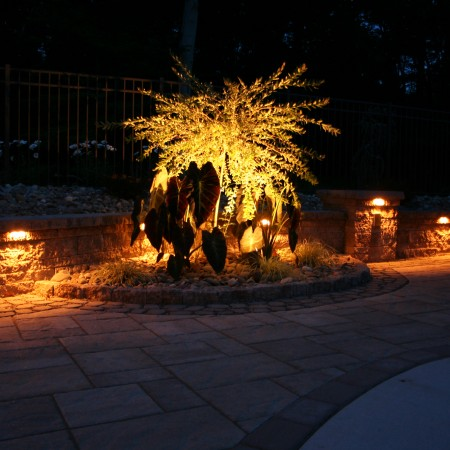 Patio Designs with Lighting
