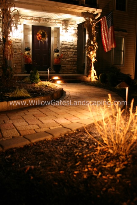 Entrance Lighting for Your Landscaping in Fleetwood PA