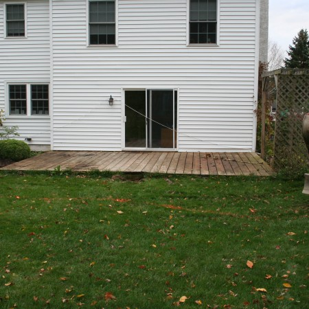 Replace Your Deck with a Concrete Patio
