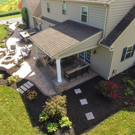 Landscaping Your Patio From Above