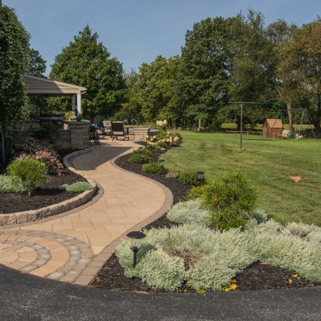find contractor for landscaping and backyard work near you