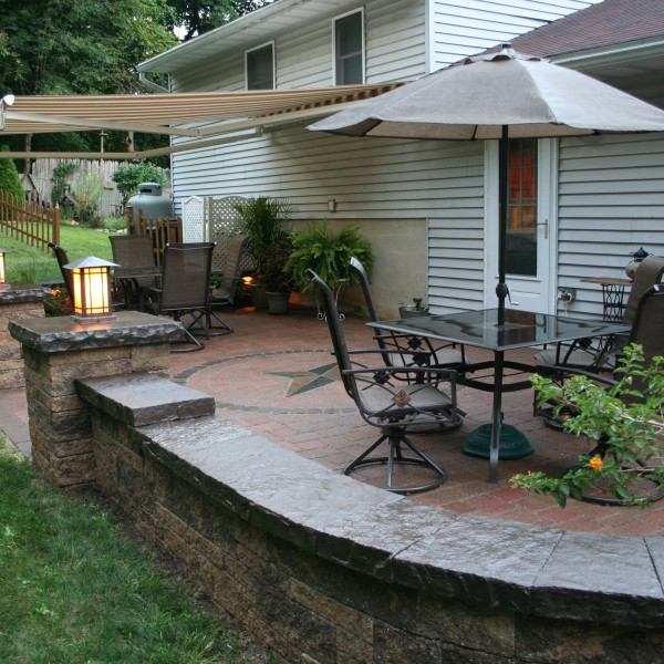 A Beautiful Hardscape Patio in Oley, PA