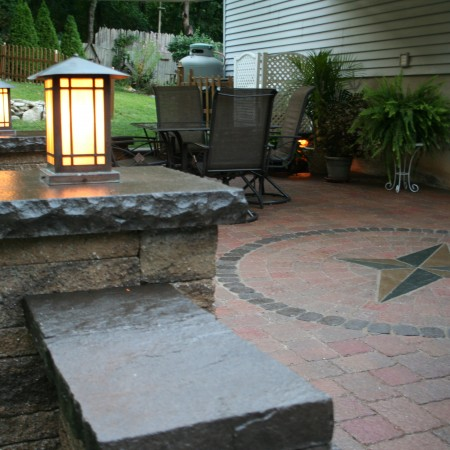 How to Build a Patio with Landscape Lighting