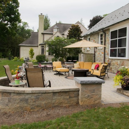 Custom Concrete Patio in Lancaster PA