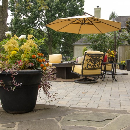 Patio Designed by Willow Gates Landscaping