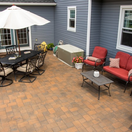 Brick Patio Design and Installation