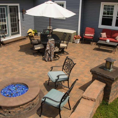 Patio with Fire Pit | Builder in Coatesville