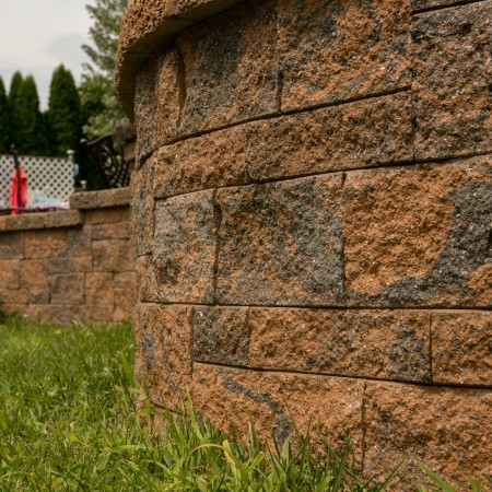 Patio and Retaining Wall for Your Backyard