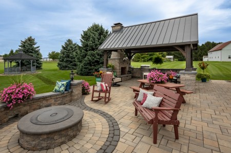 Fire Pit in your Patio | Enjoy Conversations Around the Fire