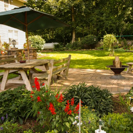 Enjoy more time in your Patio built by Willow Gates
