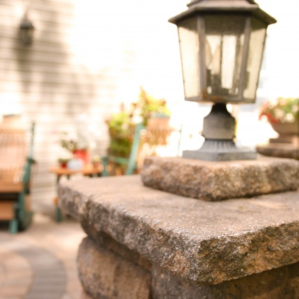 Build a Patio with Lighting