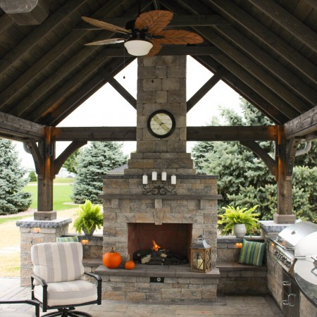 A Pavilion with a Kitchen Design Lancaster PA