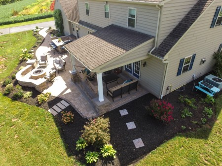 Hardscaping Patio In Fivepointville Pa