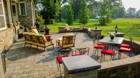 Lancaster County Raised Patio By Willow Gates Landscaping