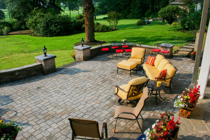 Backyard Patio in Lancaster PA