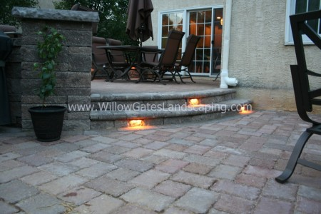 Custom Bullnose Paver Steps in Reading, PA
