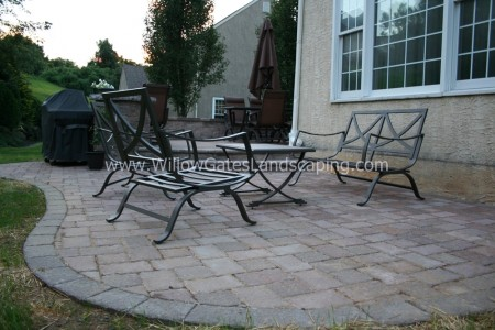 West Chester Tiered Patio Landscaper