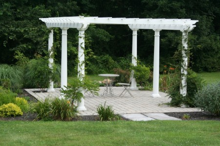Landscaping Design with a Pergola in Glenmoore