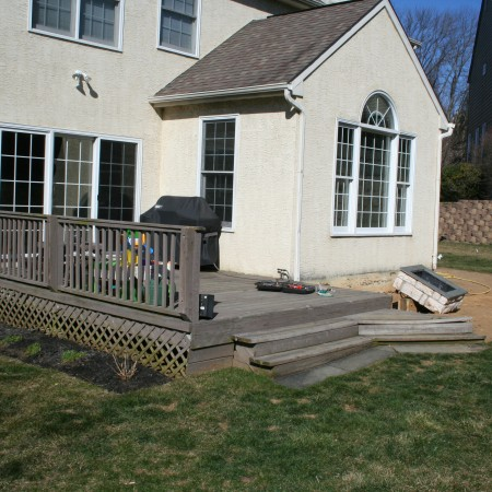 Contractor in Mohnton to replace a Deck with Patio