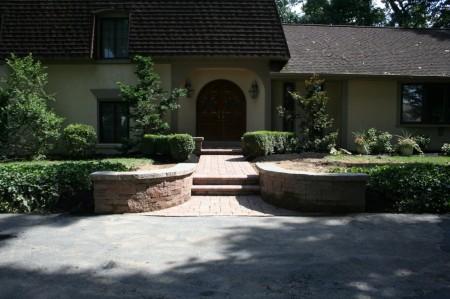 Hardscape Retaining Walls by Willow Gates Landscaping