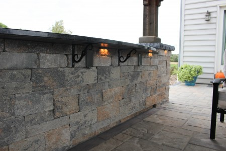 Outdoor Patio Wall