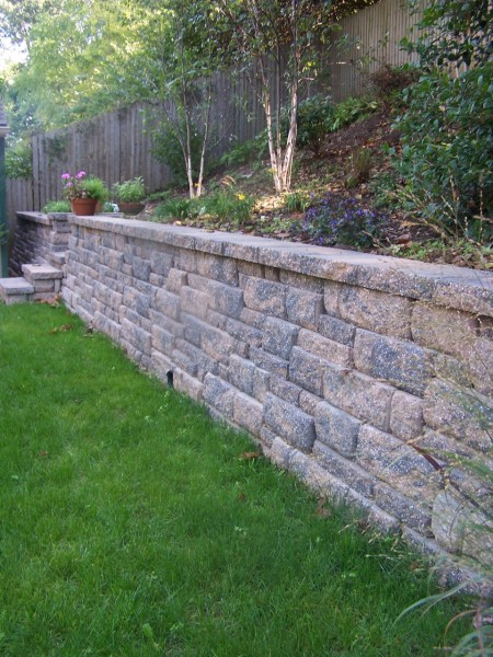 Retaining Wall materials in PA