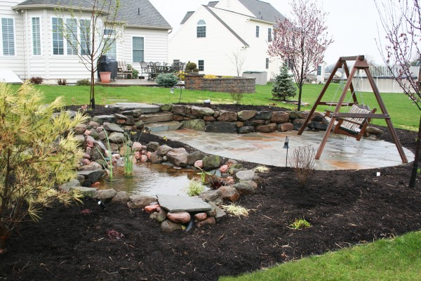 Professional landscaping design and install in pa get a for Professional landscaping service