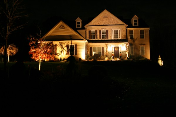 Landscape Lighting in Chester County, PA