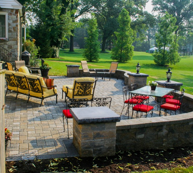 Paver Patio Designer for homes in Lancaster County PA.