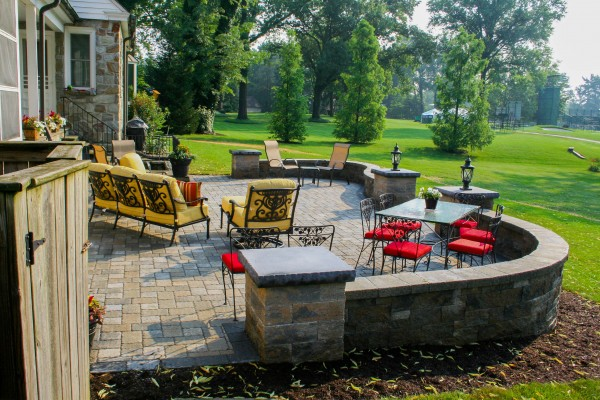 Hardscape Patio Ideas Gallery | Outstanding Designs